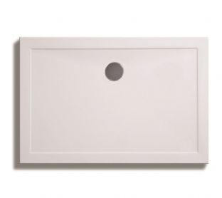 Zamori 35mm Rectangular Shower Tray 1200mm x 700mm with central waste
